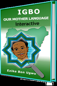 Igbo our mother tongue